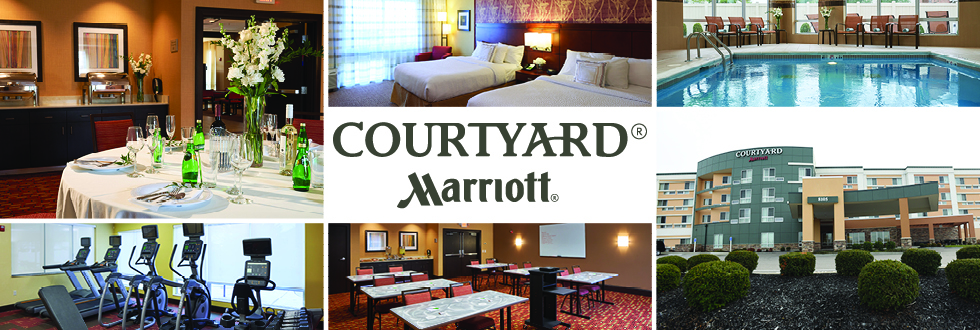 Courtyard by Marriott is a hotel in Evansville, IN