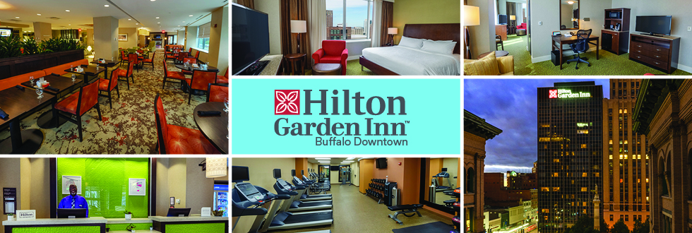 HGI Buffalo Downtown is a hilton hotel in Buffalo, NY