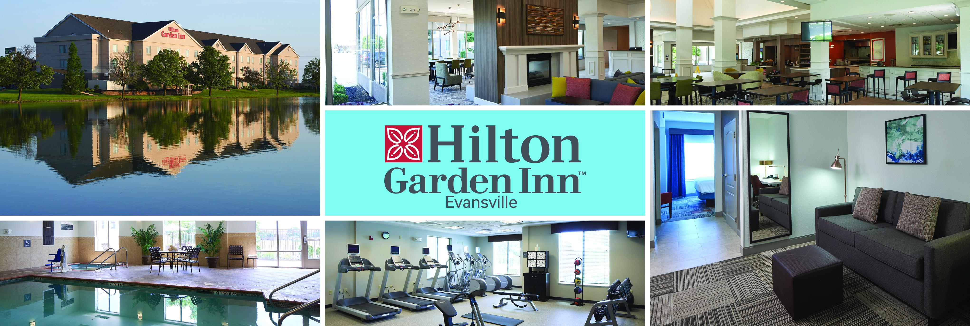 HGI Evansville is a hilton hotel in Evansville, IN