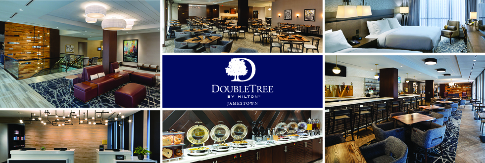 Hamister Group Opens a DoubleTree by Hilton Hotel in Jamestown, NY