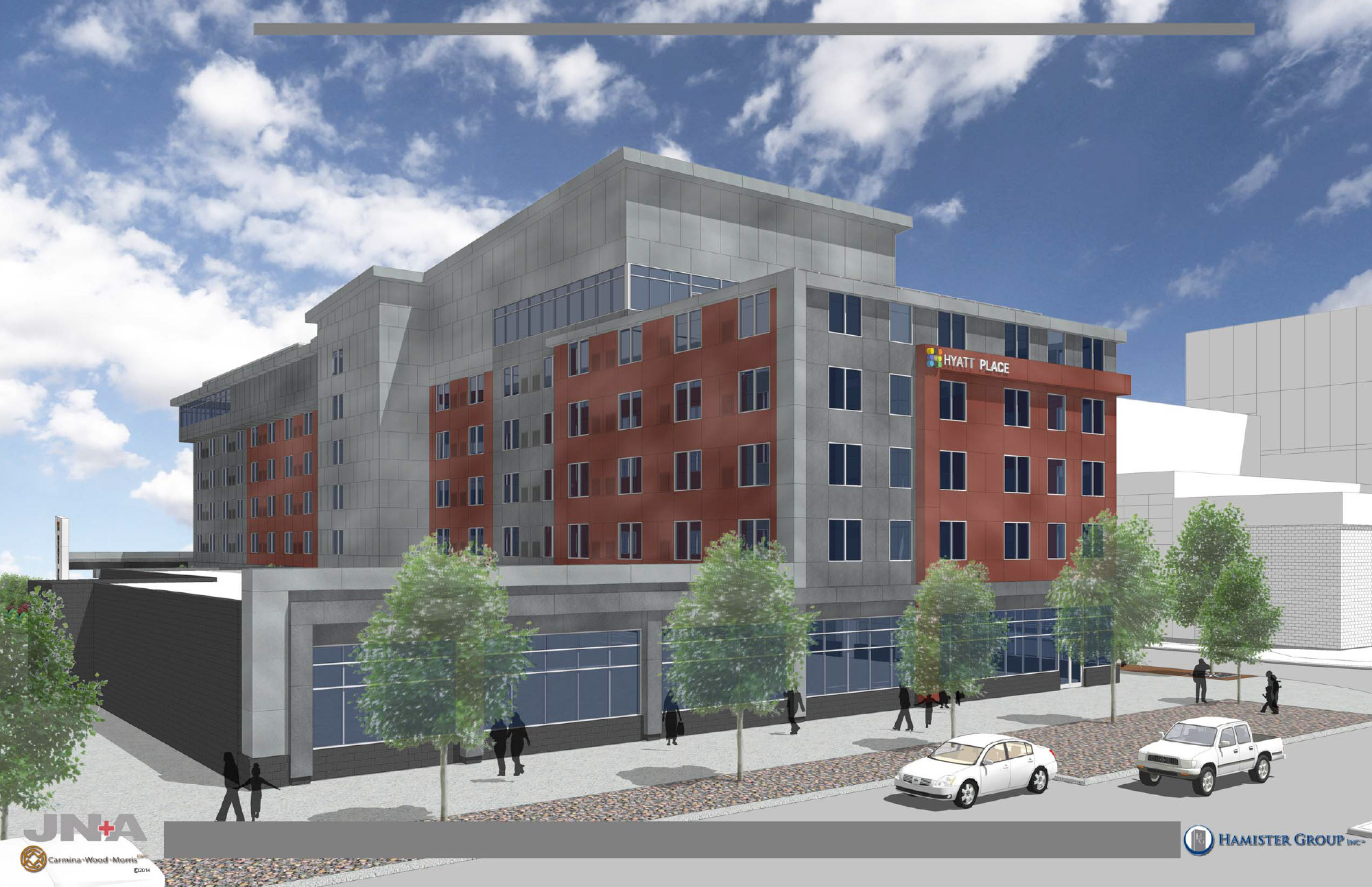 Hamister Group, LLC secures financing, will break ground on Hyatt Place Hotel
